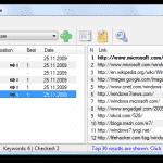 โปรแกรมเช็คอันดับเว็บไซต์ Free Monitor for Google
