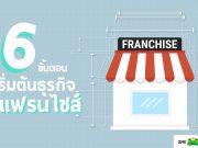 6 ขั้นตอนขั้นตอนเริ่มต้นธุรกิจแฟรนไชส์