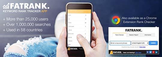 Apps เช็คอันดับเว็บไซต์ FATRANK